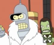 Робот Бернард в шубе