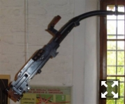 пулемет КСГМ с изогнутым стволом
