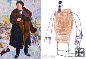Дети рисуют Шаляпина